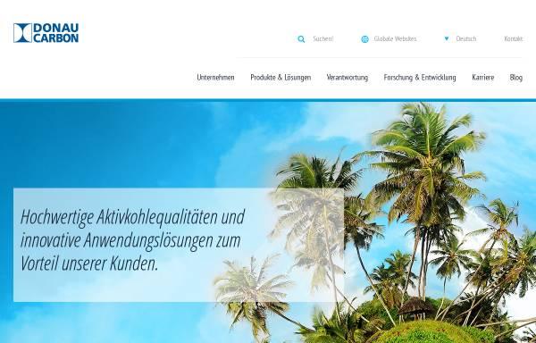 Vorschau von www.donau-carbon.com, Donau Carbon GmbH & Co. KG