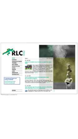Vorschau der mobilen Webseite www.rlc1952.de, Recklinghäuser Leichtathletik Club 1952 e.V.