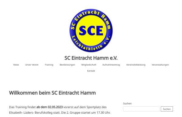 Vorschau von www.sce-hamm.de, SC Eintracht Hamm