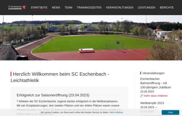 Vorschau von sce-la.de, SC-Eschenbach