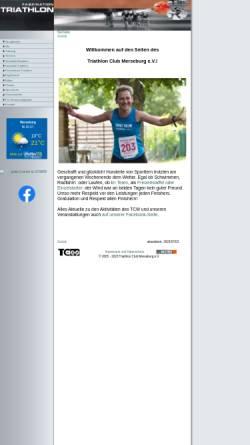 Vorschau der mobilen Webseite www.braunsbetria.de, SV Braunsbedra e.V. - Abteilung Triathlon