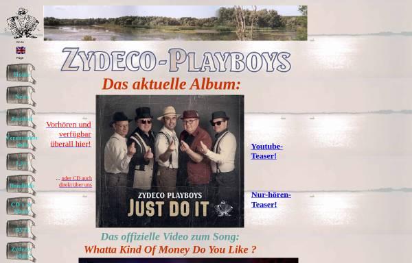 Vorschau von www.zydeco.de, Zydeco-Playboys, The