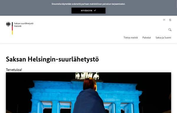 Vorschau von www.helsinki.diplo.de, Deutsche Botschaft Helsinki