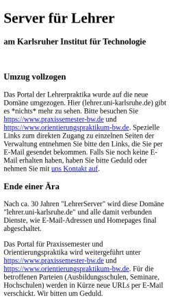 Vorschau der mobilen Webseite www.lehrer.uni-karlsruhe.de, Banken und Geldwechsel