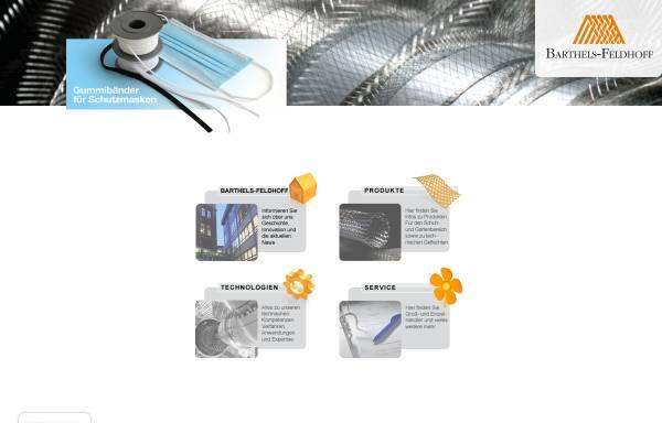 Vorschau von www.ringelspitz.de, Barthels-Feldhoff GmbH & Co. Textilwerke