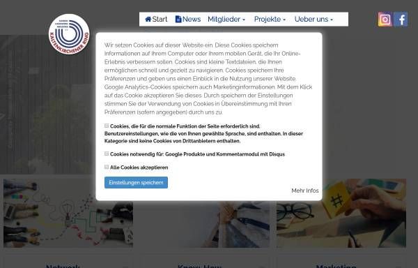 Vorschau von www.kaltenkirchener-ring.de, Kaltenkirchener Ring Handel, Handwerk, Industrie e. V.