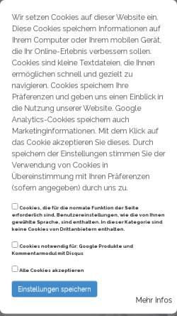 Vorschau der mobilen Webseite www.kaltenkirchener-ring.de, Kaltenkirchener Ring Handel, Handwerk, Industrie e. V.