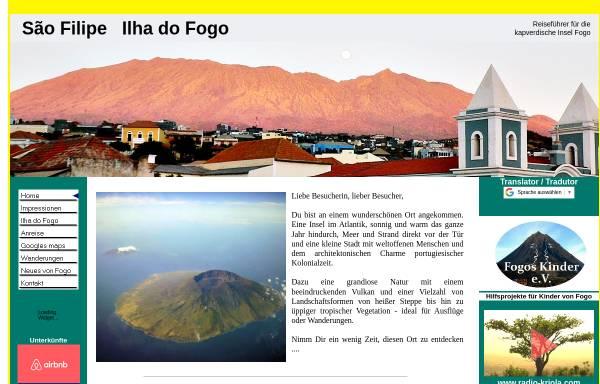 Vorschau von www.sao-filipe.com, Sao Filipe do Fogo