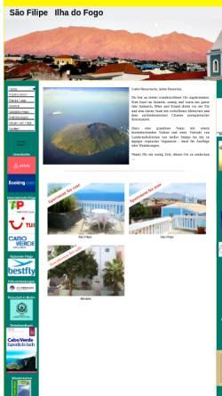 Vorschau der mobilen Webseite www.sao-filipe.com, Sao Filipe do Fogo