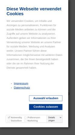 Vorschau der mobilen Webseite www.muerwiker.de, Mürwiker Werkstätten GmbH