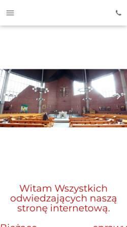 Vorschau der mobilen Webseite www.pmk-aachen.de, Polnische Katholische Mission Aachen (Polska Misja Katolicka)