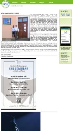 Vorschau der mobilen Webseite www.hcjb.de, Radio HCJB