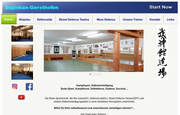 Vorschau von www.bujinkan-gersthofen.de, Bujinkan Dojo Gersthofen