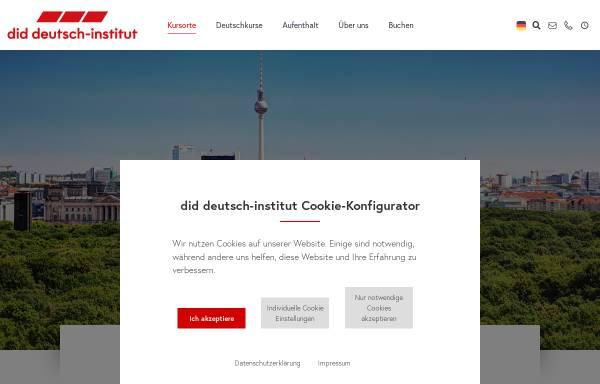 Vorschau von www.did.de, did deutsch-institut berlin