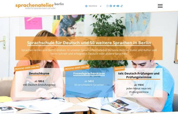 Vorschau von www.sprachenatelier-berlin.de, Sprachenatelier Berlin e.V.