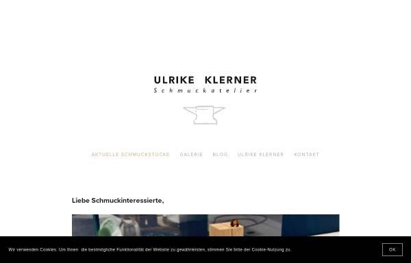 Vorschau von www.ulrike-klerner.de, Schmuckatelier Ulrike Klerner