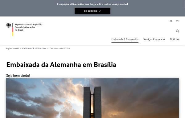 Vorschau von www.brasilia.diplo.de, Deutsche Botschaft