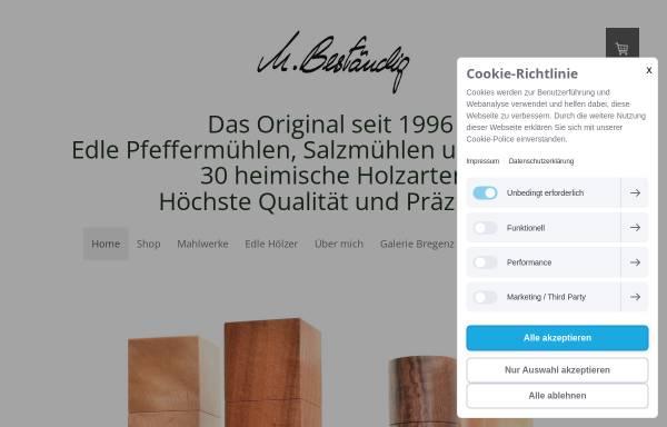 Vorschau von www.bestaendig-design.de, Michael Beständig Design
