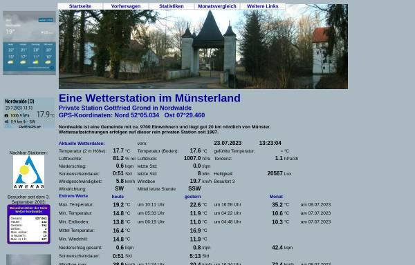 Wetter Nordwalde