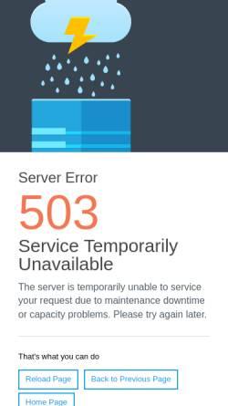 Vorschau der mobilen Webseite www.ya-nrw.de, Youth Alive Nordrhein-Westfalen