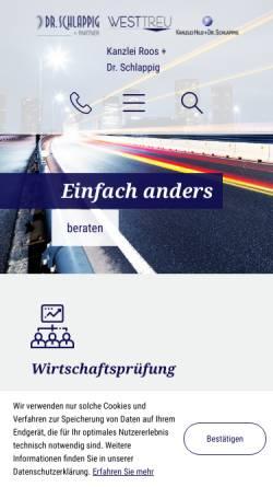 Vorschau der mobilen Webseite www.kanzlei-hild.de, Kanzlei Hild GbR
