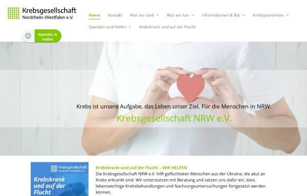 Vorschau von www.krebsgesellschaft-nrw.de, Krebsgesellschaft-NRW