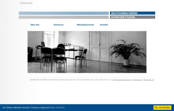 Vorschau von www.anwaltsbuero.at, Rechtsanwälte Embacher - Soyer & Bischof