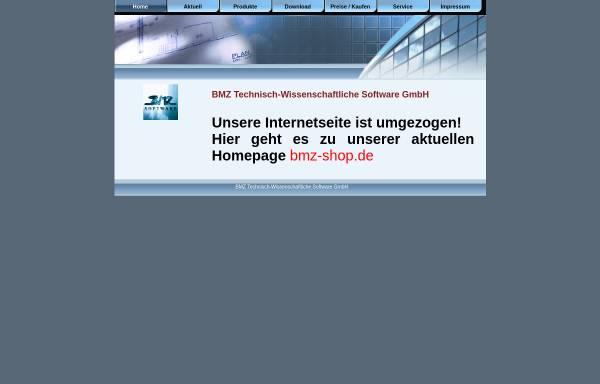 Vorschau von www.bmz-software.com, BMZ Technisch-Wissenschaftliche Software GmbH
