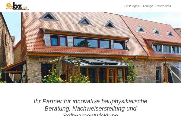 Vorschau von www.eversoftware.de, Energieberatungszentrum Süd
