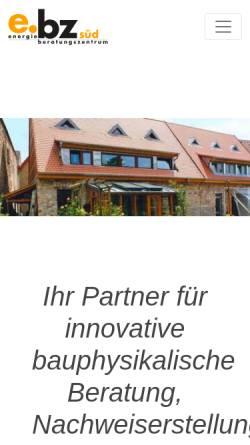 Vorschau der mobilen Webseite www.eversoftware.de, Energieberatungszentrum Süd