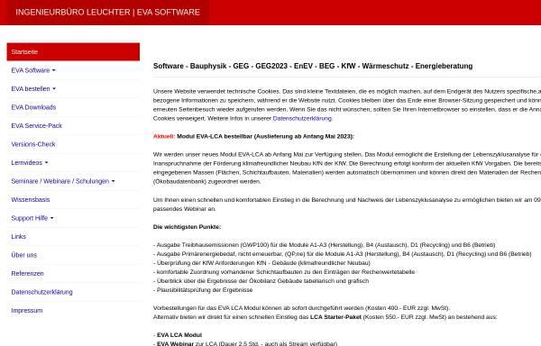 Vorschau von www.leuchter.de, Ingenieurbüro Leuchter