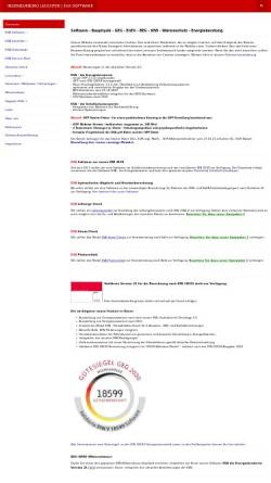 Vorschau der mobilen Webseite www.leuchter.de, Ingenieurbüro Leuchter