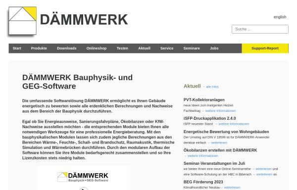Vorschau von www.bauphysik-software.de, Kern Ingenieurkonzepte