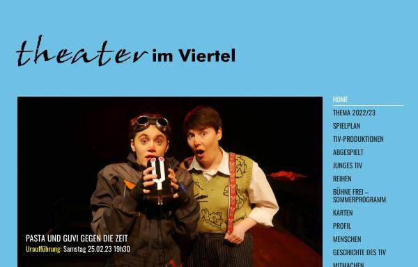 Vorschau von www.dastiv.de, TiV Theater im Viertel