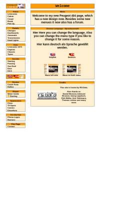 Vorschau der mobilen Webseite 404.tin.at, Peugeot 404