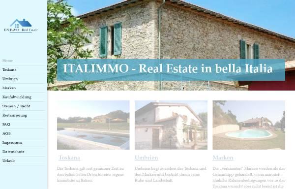 Vorschau von www.italimmo.com, Andreas Fritsch Immobilien GbR