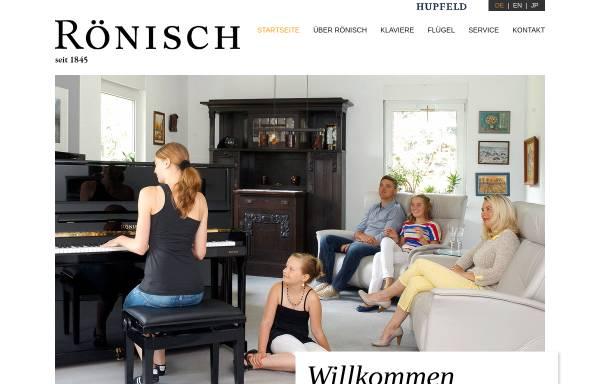 Vorschau von www.roenisch-pianos.de, Leipziger Pianofortefabrik