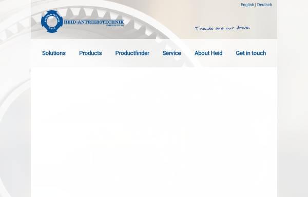 Vorschau von www.heid-antriebstechnik.at, Heid Antriebstechnik Produktion & Handel GmbH