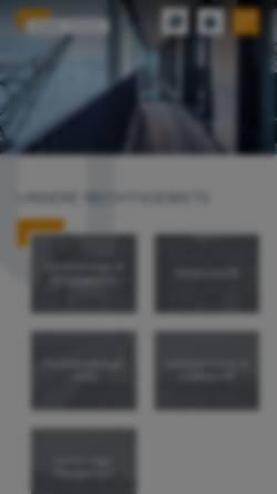 Vorschau der mobilen Webseite www.dr-bachem.de, Dr. Bachem Rechtsanwälte