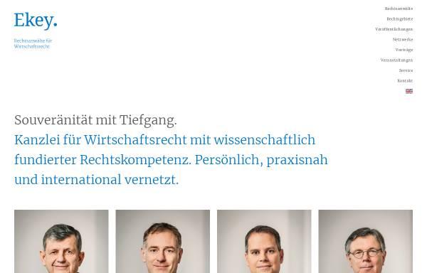 Vorschau von www.ekey.de, Ekey, Prof. Dr. & Kollegen
