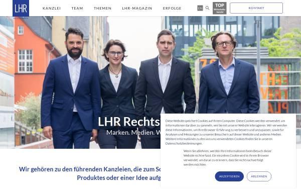 Vorschau von www.lampmannbehn.de, Lampmann, Behn und Rosenbaum