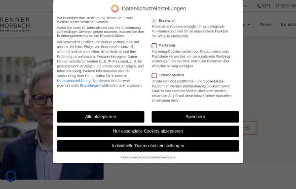 Vorschau von www.rechtsanwalt-koeln.eu, Rechtsanwalt Tim Berger