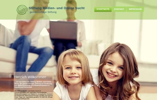 Vorschau von www.stiftung-medienundonlinesucht.de, Stiftung Medien- und Onlinesucht