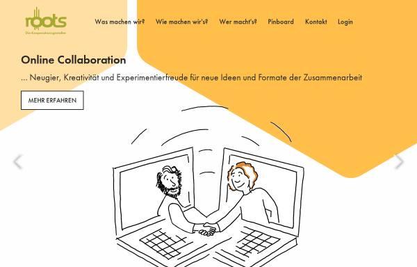 Vorschau von www.roots.de, Roots Outdoortrainings und Seminare