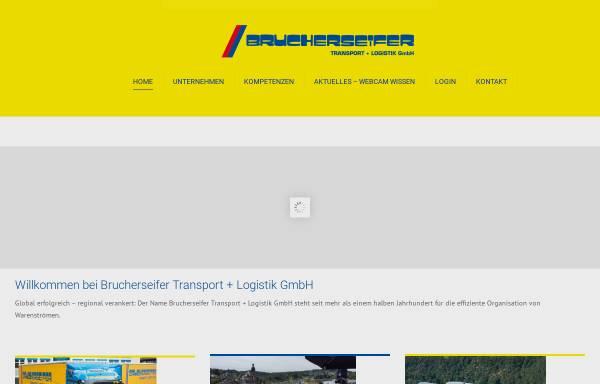 Vorschau von www.brucherseifer-sped.de, Brucherseifer Transport GmbH