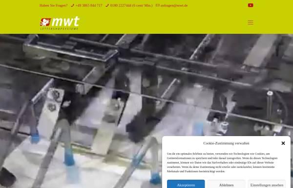 Vorschau von mwt.de, MWT Handel und Service GmbH