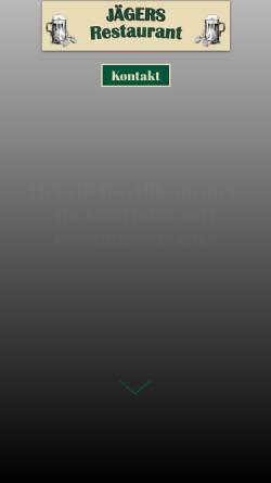 Vorschau der mobilen Webseite www.fabecks.de, Fabecks Restaurant