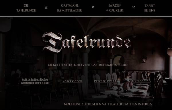 Vorschau von www.tafelrunde-berlin.de, Tafelrunde