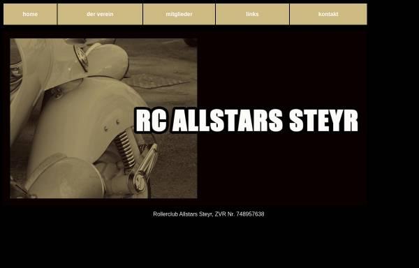 Vorschau von www.rcallstars.at, Rollerclub Allstars Steyr