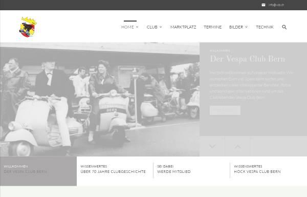 Vorschau von www.vcb.ch, Vespa Club Bern
